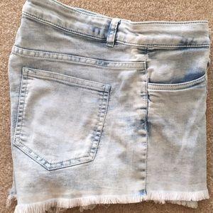 Pants - Denim Cutoff Shorts